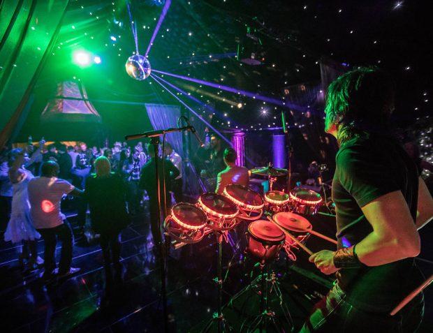Cool LED Club Percussionist