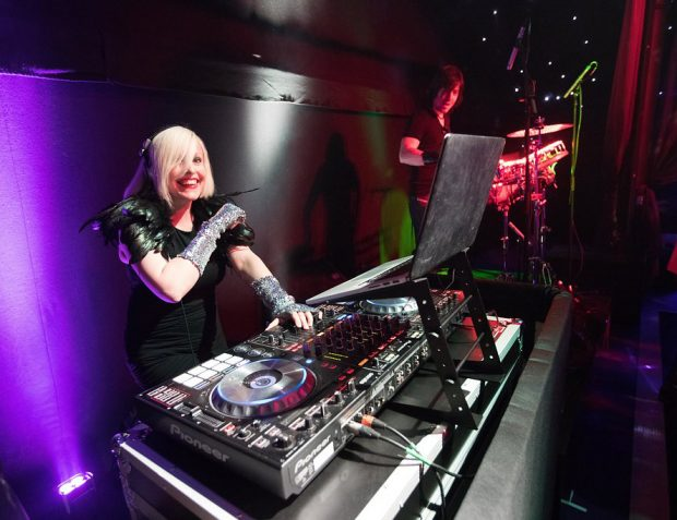 Awesome International DJ at The Rage Pop-Up Nightclub Corporate Summer Party
