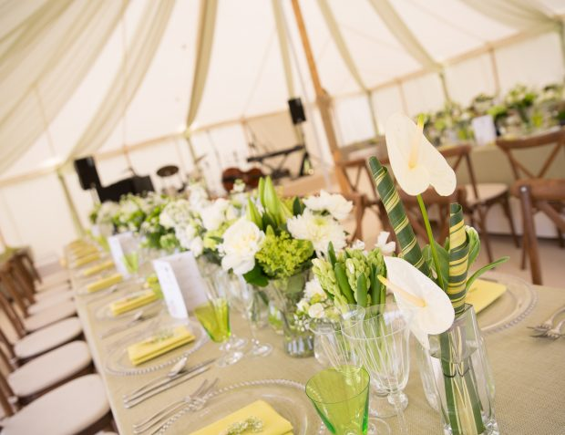 Floristry And Table Settings