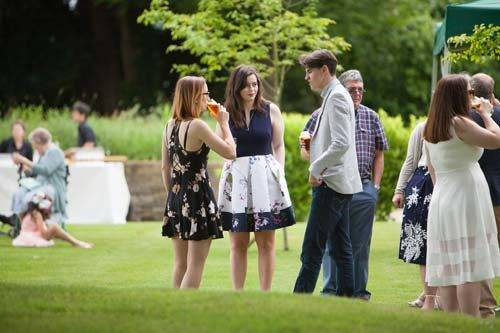 English summer garden party
