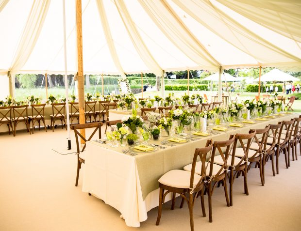 Table Settings In Marquee Interior