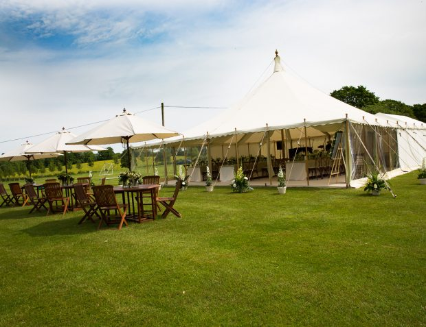 Pretty Garden Party Marquee