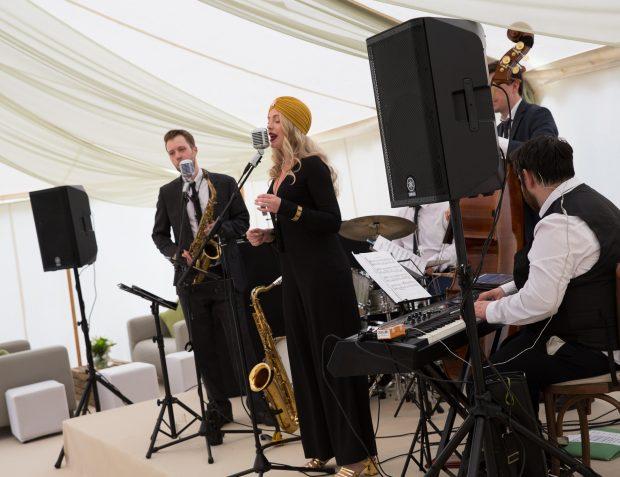 Swing Band In Full 'Swing'