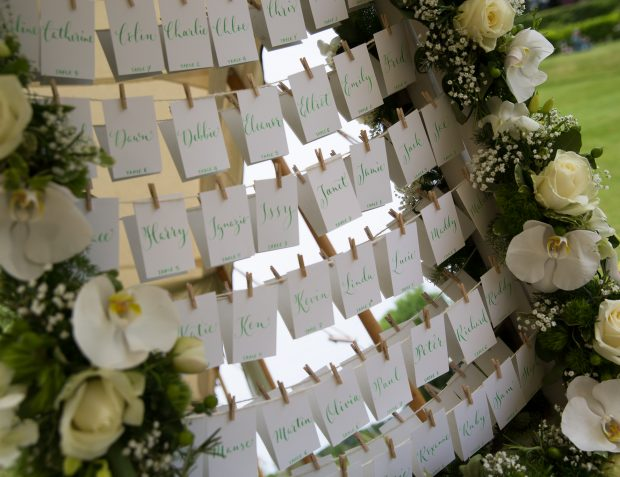 Table Plan Ideas With Floristry