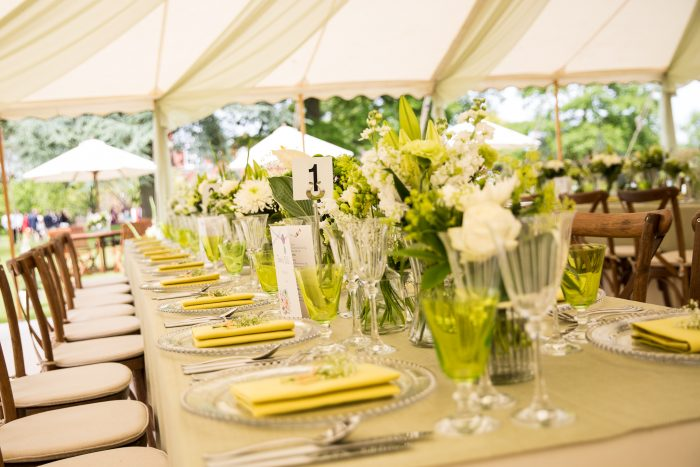 Garden Party Table Settings
