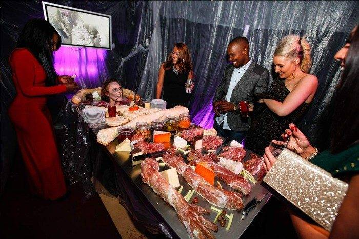 Gruesome Table At BFW event