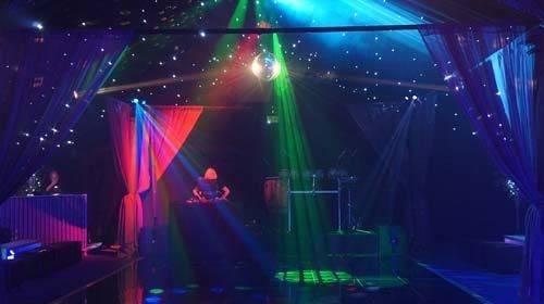 nightclub marquee