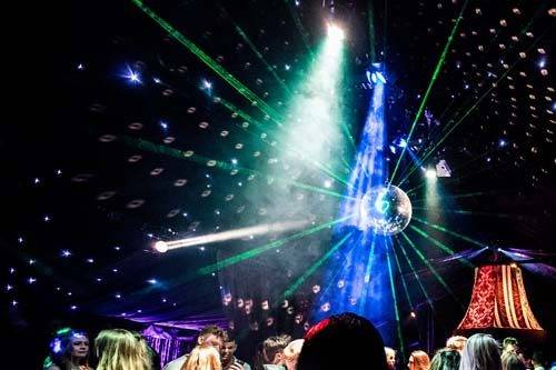 rage nightclub mirrorball