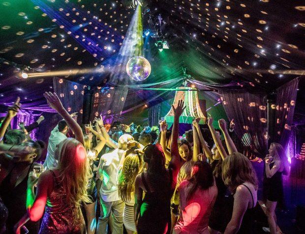 Rage Nightclub dancefloor