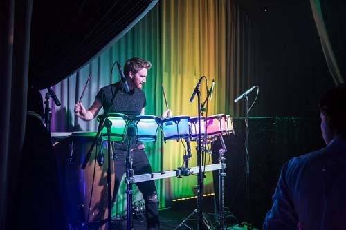 LED percussionist
