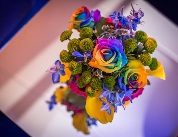 Colourful Table Floristry