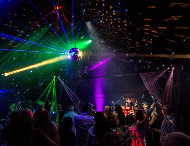 Rage luxury pop-up nightclub