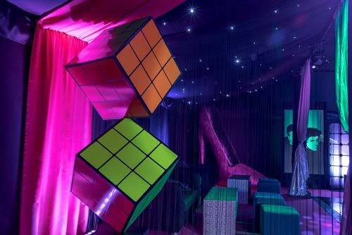 Rubik's cube prop