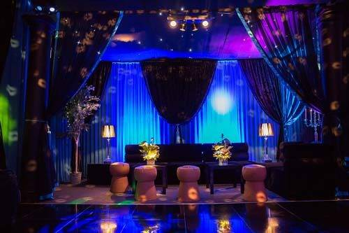 50th marquee interior styling