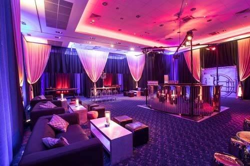 ocean's 11 styled venue