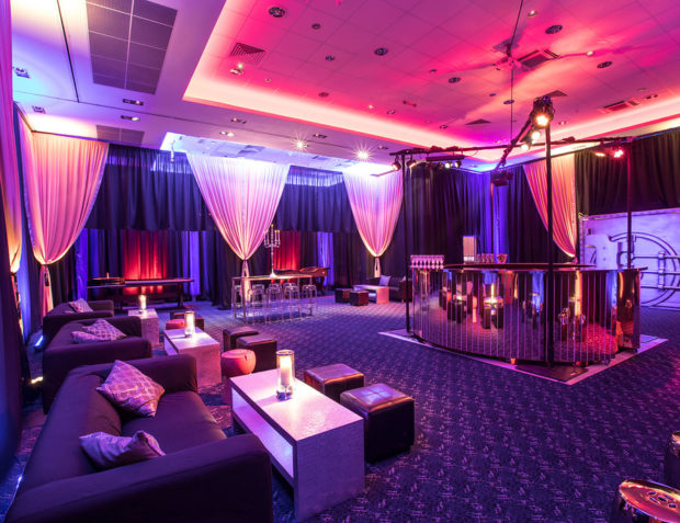 Ocean's 11 Styled Party Venue