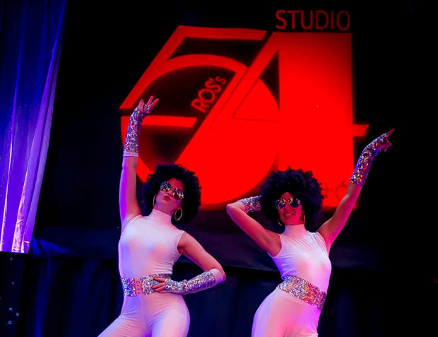 Personalised Studio 54 themed 60th birthday party