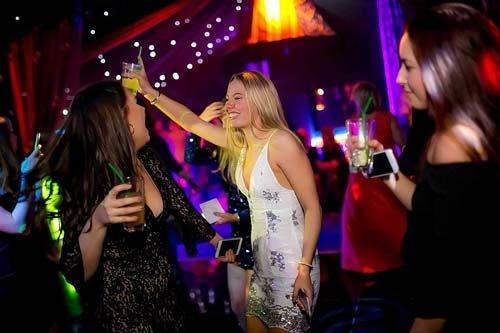 rage pop up nightclub