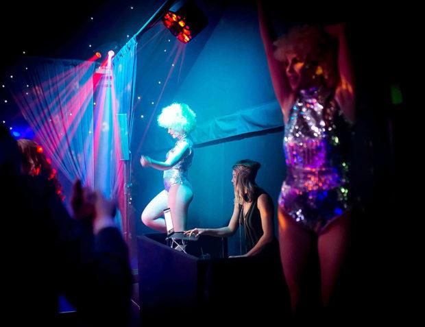 Studio 54 Party DJ and Dancers