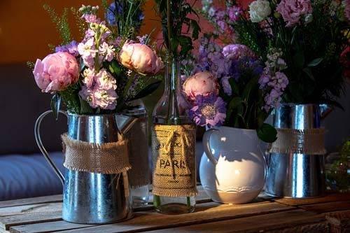 floristry tipi party