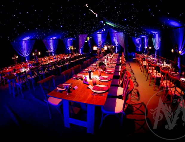 21st birthday party dining tables