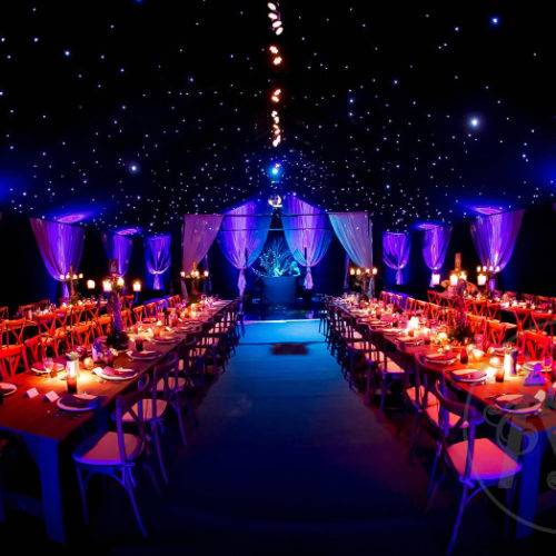 winter solstice luxury marquee