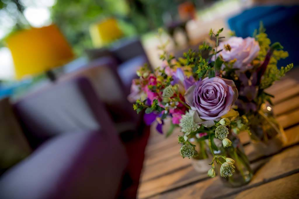 Vintage party floristry