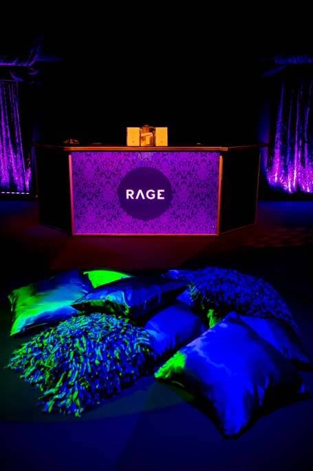 Rage nightclub bar