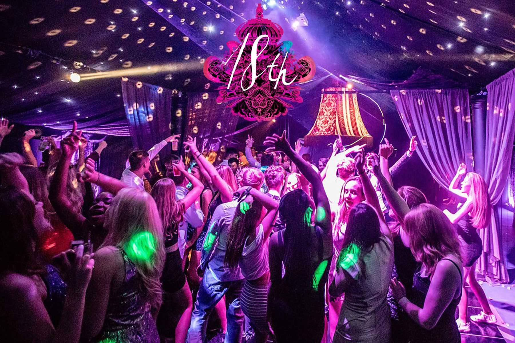 Luxury 18th Birthday Party Planners