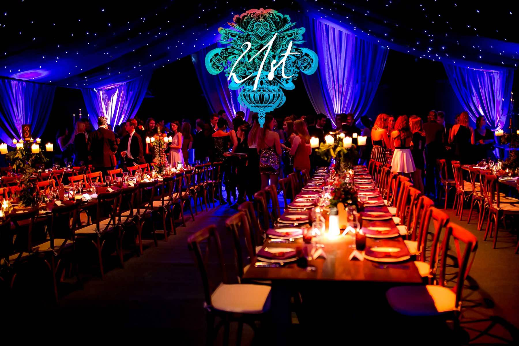 Luxury 21st Birthday Party Planners Mirage Parties