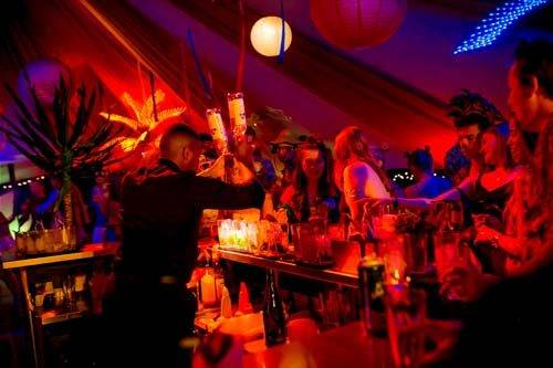 carnival party cocktail bar