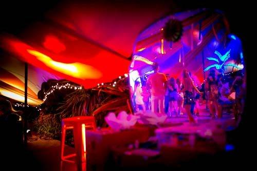 carnival party interior