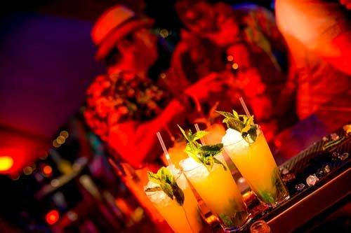 carnival themed party cocktails