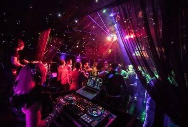 corporate summer party nightclub