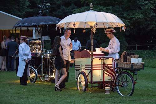 luxury ice cream cart