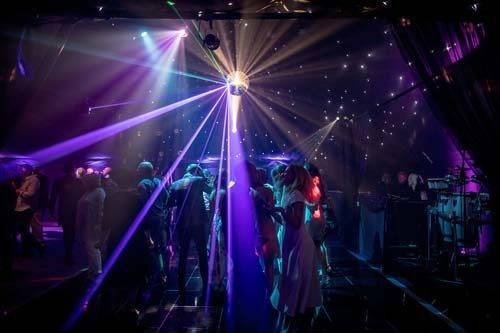 party dance floor mirrorball
