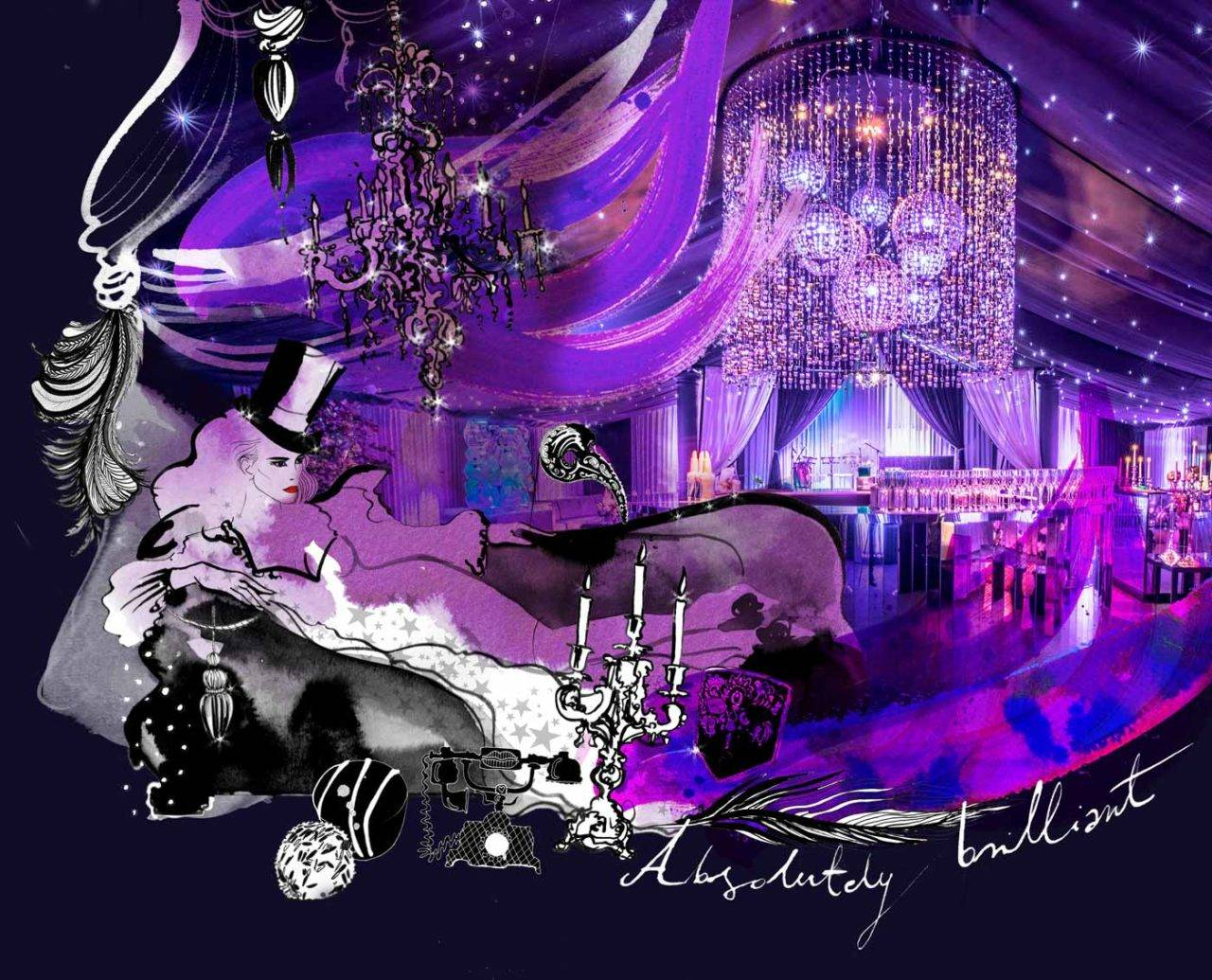 party planner gallery illustration
