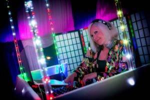 DJ at a party